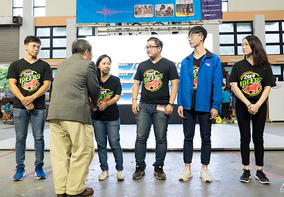 Sinh viên Duy Tân đoạt giải khuyến khích thiết kế nhà chống động đất 2019 - Ảnh 1.