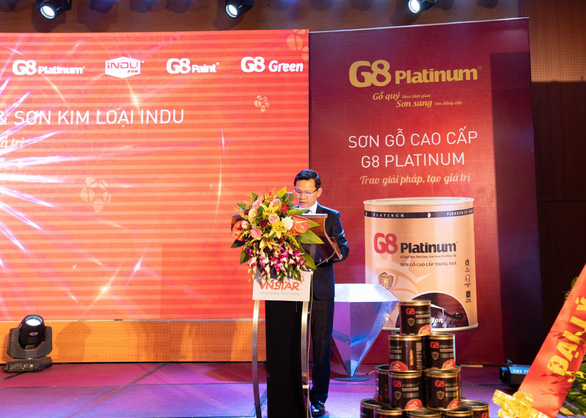 Lễ ra mắt Sơn gỗ G8 Platinum và Sơn kim loại iNDU tại Quảng Bình - Ảnh 1.