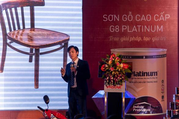 Lễ ra mắt Sơn gỗ G8 Platinum và Sơn kim loại iNDU tại Quảng Bình - Ảnh 3.