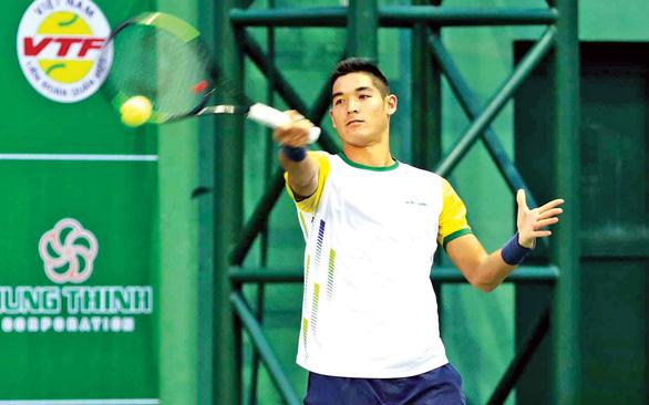 Tay vợt Thái Sơn Kwiatkiowski lần đầu dự giải quốc gia - Ảnh 1.
