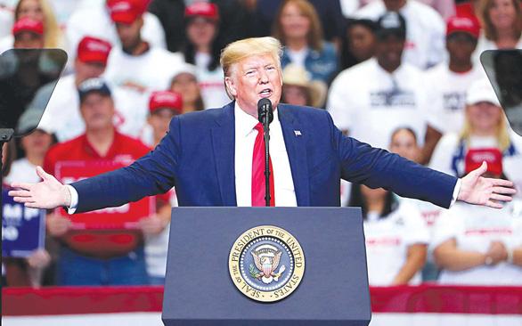 Thời Trump, kinh tế Mỹ bay lên như con phượng hoàng  - Ảnh 1.