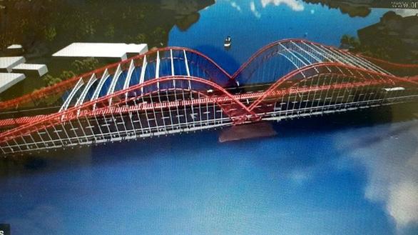 Bà Rịa - Vũng Tàu tạm dừng dự án 100 tỉ đồng trang trí cầu Cỏ May - Ảnh 4.