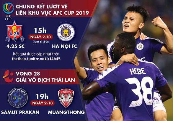 Lịch thi đấu của Hà Nội FC và thủ môn Văn Lâm hôm nay - Ảnh 1.
