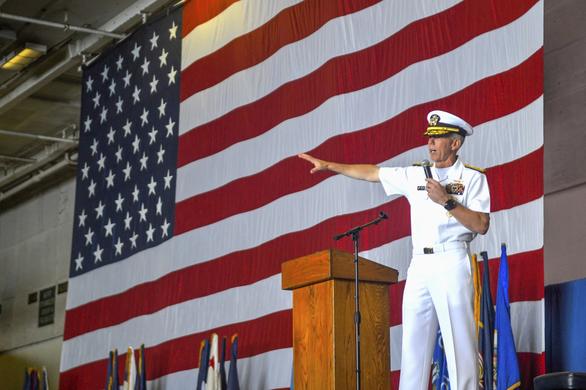 Chuẩn đô đốc Mỹ: Hiện diện ở khu vực Biển Đông là nghĩa vụ của chúng tôi - Ảnh 1.