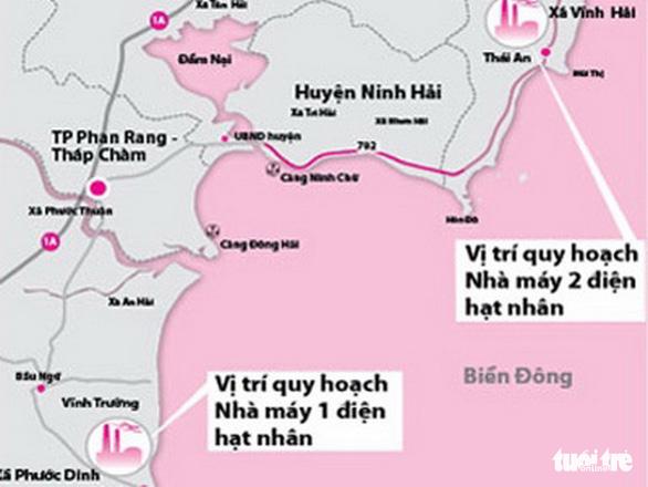 Chuyển vùng xây hai nhà máy điện hạt nhân Ninh Thuận sang du lịch - Ảnh 3.