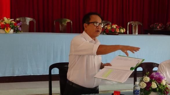 Đối thoại bất thành giữa chủ đầu tư khu đô thị mới Hưng Phú và khách hàng - Ảnh 1.