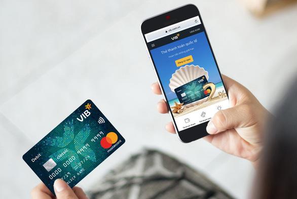 Mastercard hợp tác ngân hàng VIB tăng bảo mật thẻ - Ảnh 2.