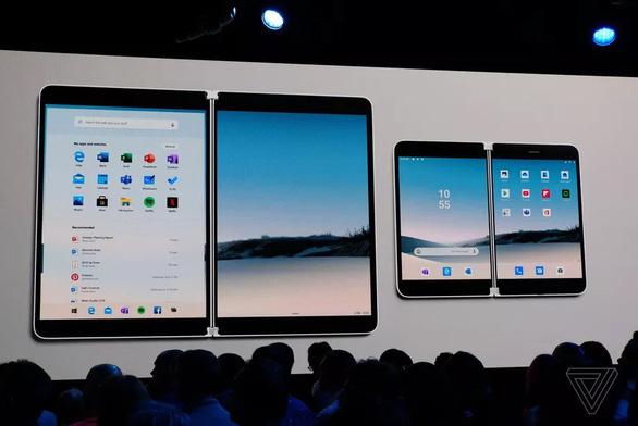 Microsoft bất ngờ ra mắt điện thoại Android màn hình kép Surface Duo - Ảnh 2.