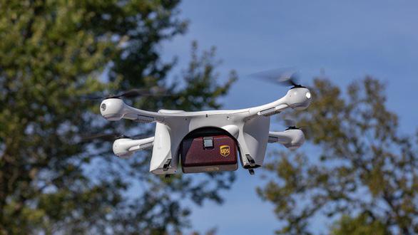 UPS được cấp phép là hãng bay giao hàng bằng drone đầu tiên - Ảnh 1.