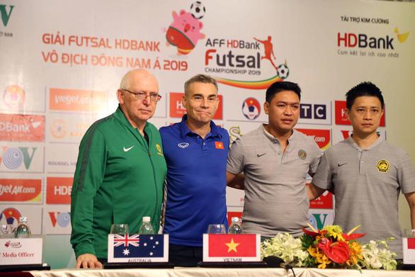 Thái Lan, Úc, Việt Nam và Malaysia tranh 3 vé dự VCK Futsal châu Á 2020 - Ảnh 1.