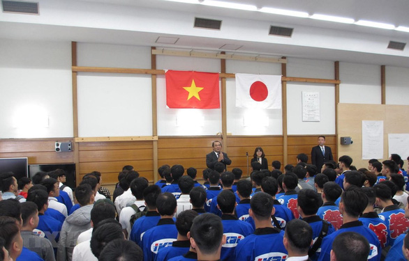 Tập đoàn Nhật tổ chức ngày hội lớn cảm ơn thực tập sinh Việt Nam - Ảnh 1.