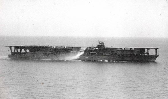 Phát hiện tàu sân bay Nhật bị Mỹ đánh chìm trong Thế chiến II ở độ sâu 5.486m? - Ảnh 1.