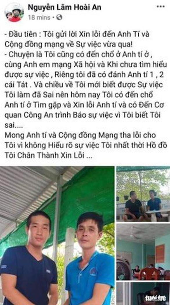 Điều tra Facebooker Đàm Vĩnh Hưng nghi kích động bạo lực vụ cha đánh con - Ảnh 4.