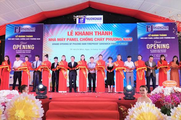 Phương Nam khánh thành nhà máy panel chống cháy trên 10 triệu đô - Ảnh 2.