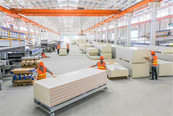 Phương Nam khánh thành nhà máy panel chống cháy trên 10 triệu đô - Ảnh 5.