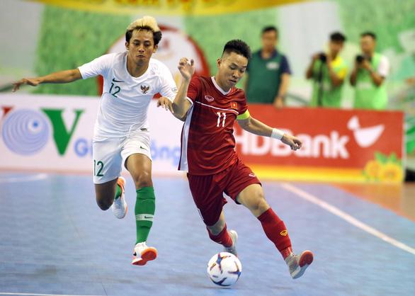 Futsal Việt Nam hòa Indonesia ở giải Đông Nam Á 2019 - Ảnh 1.