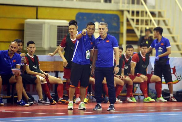 Futsal Việt Nam hòa Indonesia ở giải Đông Nam Á 2019 - Ảnh 4.