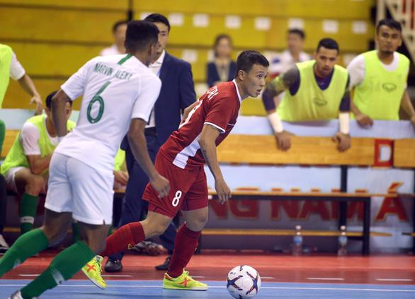 Futsal Việt Nam hòa Indonesia ở giải Đông Nam Á 2019 - Ảnh 2.