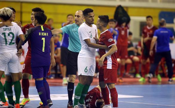 Futsal Việt Nam hòa Indonesia ở giải Đông Nam Á 2019 - Ảnh 3.
