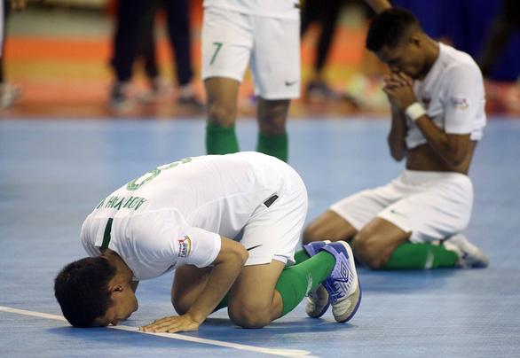 Futsal Việt Nam hòa Indonesia ở giải Đông Nam Á 2019 - Ảnh 5.