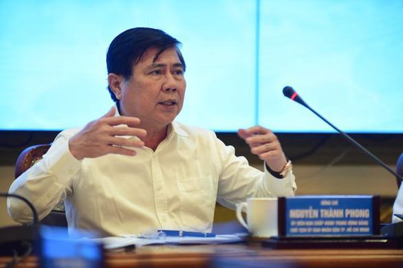 Chủ tịch TP.HCM Nguyễn Thành Phong: Không nhân nhượng với xây dựng không phép - Ảnh 1.