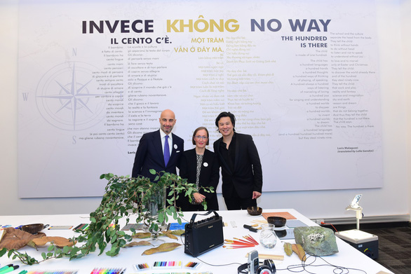 Reggio Children (Ý) hợp tác giáo dục mầm non với Embassy Education Việt Nam - Ảnh 1.