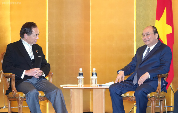 Thủ tướng Nguyễn Xuân Phúc gặp nhiều lãnh đạo thế giới tại Nhật Bản - Ảnh 3.