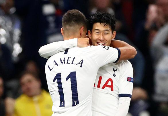 Son Heung Min lập cú đúp, Tottenham thắng đậm Crvena Zvezda - Ảnh 1.