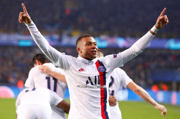 Mbappe phá kỷ lục ghi bàn của Messi ở Champions League - Ảnh 1.