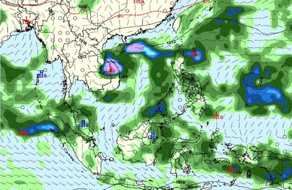 Miền Trung, miền Nam nguy cơ ngập lụt do bão đầu tháng 11 - Ảnh 1.