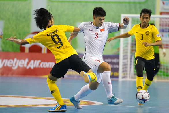 Việt Nam gặp Thái Lan ở bán kết futsal Đông Nam Á 2019 - Ảnh 1.