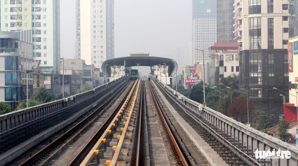 Khó hoàn thành nghiệm thu đường sắt Cát Linh - Hà Đông vào 31-12 - Ảnh 1.