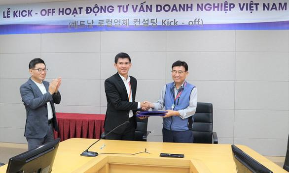 Tôn Đông Á từng bước tham gia chuỗi cung ứng ngành sản xuất thiết bị gia dụng - Ảnh 1.