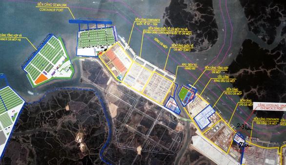 Bà Rịa - Vũng Tàu kiến nghị không đấu giá mặt nước trước cảng Hyosung - Ảnh 2.