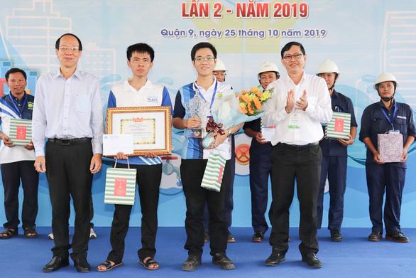 Trao danh hiệu Bàn tay vàng ngành cấp nước TP.HCM 2019 - Ảnh 1.
