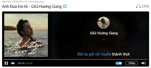 Sau The Voice, GiGi Hương Giang lãng du cùng 'Anh đưa em đi' - Ảnh 1.