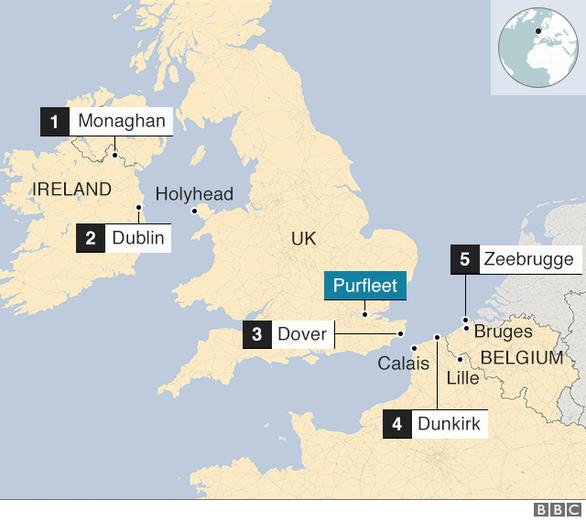 Vụ 39 thi thể ở Anh: Bắt chủ xe đầu kéo - Ảnh 2.