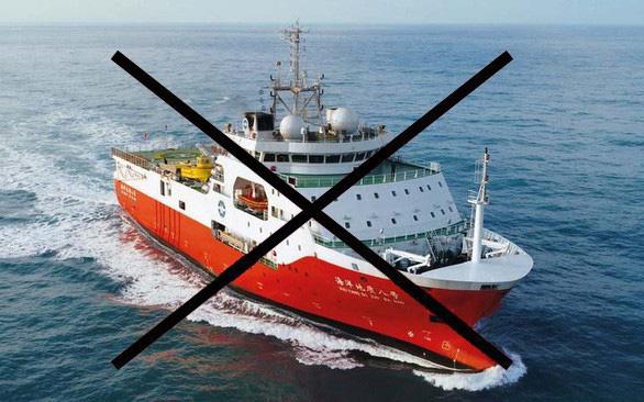 Bộ Ngoại giao xác nhận tàu Hải Dương 8 rút khỏi vùng biển Việt Nam - Ảnh 1.
