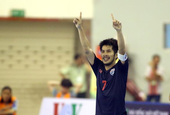 Futsal Việt Nam lại tiếp tục thua người Thái - Ảnh 3.