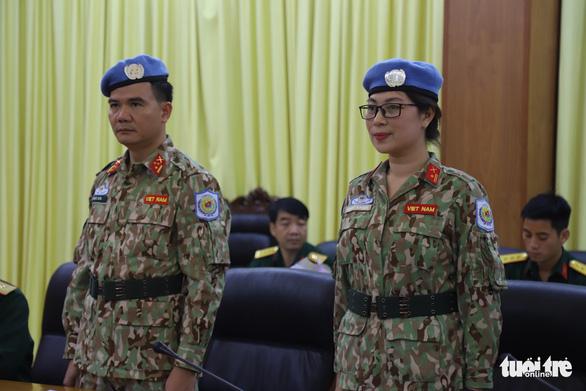 Nữ sĩ quan xinh đẹp của Việt Nam đi gìn giữ hòa bình tại Nam Sudan - Ảnh 2.
