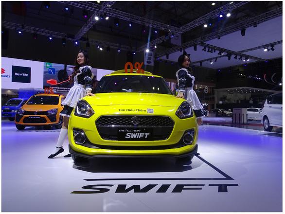 Chiêm ngưỡng vẻ thể thao của Suzuki Swift tại Triển lãm ô tô Việt Nam 2019 - Ảnh 2.