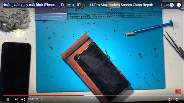 Có nên thay mặt kính IPhone 11? - Ảnh 4.