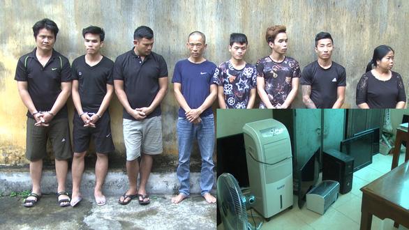 Bắt giữ băng nhóm trộm cắp tài sản hoành hành ở nhiều làng quê xứ Thanh - Ảnh 2.