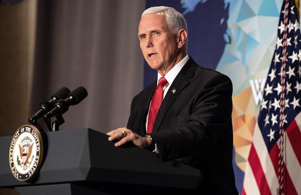 Phó tổng thống Mỹ Mike Pence công kích trực diện Trung Quốc - Ảnh 1.