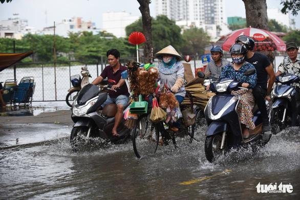 Gió mùa đông bắc gây mưa lớn miền Bắc, triều cường cao ở miền Nam - Ảnh 5.