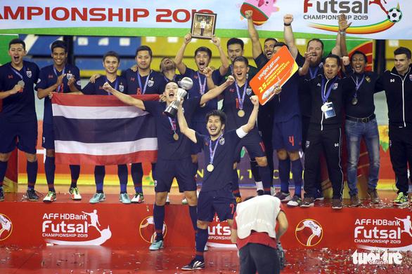 Thái Lan vô địch futsal Đông Nam Á 2019 sau trận chung kết suýt có đánh nhau - Ảnh 9.
