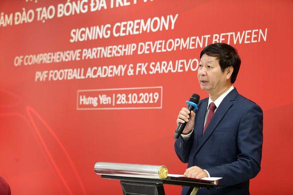 FK Sarajevo muốn đưa cầu thủ Việt Nam sang Bosnia thi đấu - Ảnh 2.