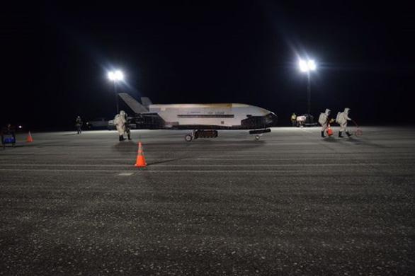Tàu con thoi X-37B của Mỹ phóng các vệ tinh bí mật vào vũ trụ - Ảnh 1.