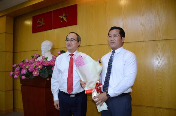 Ông Trần Hoàng Danh làm bí thư Quận ủy quận 12, TP.HCM - Ảnh 1.