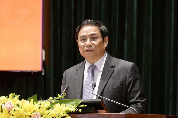 Ông Phạm Minh Chính: Mạnh dạn thí điểm trong công tác cán bộ - Ảnh 1.